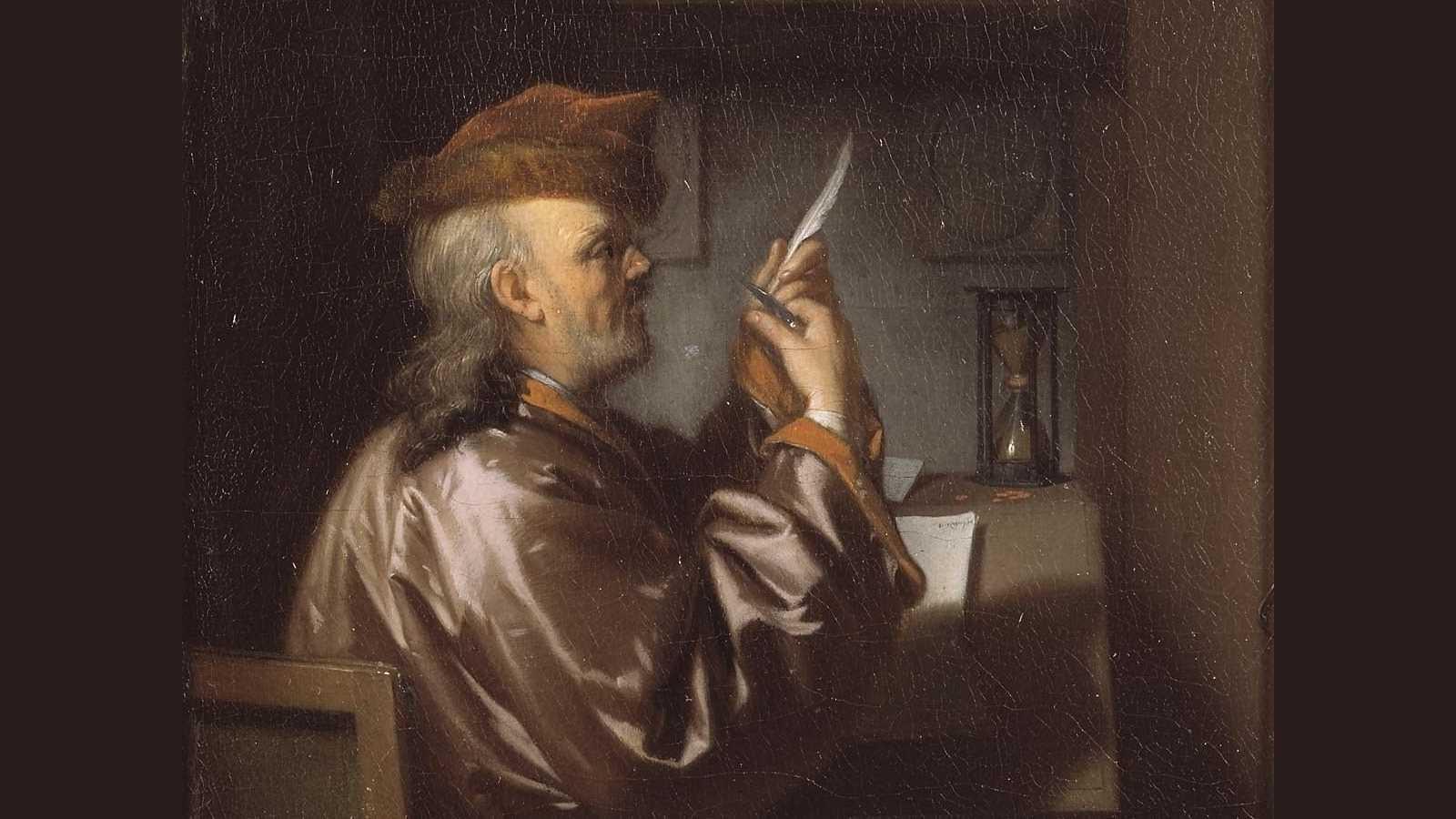 The Bookkeeper by van Dijk